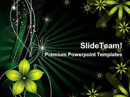 Flowers Abstract Background Design Powerpoint Backgrounds Ppt Them Design For Powerpoint