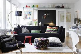 Black Sofa Interior Design by Ideas Simple Scandinavian Style Interior Design Ideas To Inspire