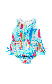 Lilly Pulitzer Baby Clothes Lilly Pulitzer Baby Lilly Shif In Beach And Bae Sunglow Multi