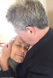 yolanda foster s hair style yolanda foster in husband david s arms as lyme disease battle