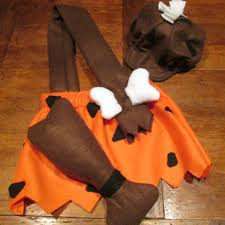 Baby Pebbles Halloween Costume Baby Bam Bam Costume Pattern Sewing Patterns Baby