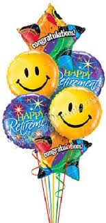 luck balloon delivery best wishes luck retirement balloon delivery and decoration