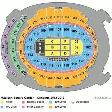 Winter Garden Seating Chart - madison square garden tickets upcoming events
