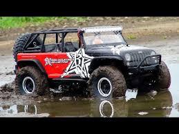 rc adventures jeep jk 4x4 stuck in a mud bog rigid industries