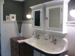 Double Trough Sink Bathroom Sinks Kohler Brockway Trough Sink Uk Bathroom Floating Trough