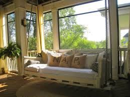 Daybed Porch Swing Gorgeous Screen Porch Decorating Ideas Daybed Repurposed And Porch