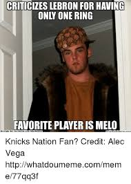 Ebook Meme - criticizes lebron for having only one ring favorite player is melo