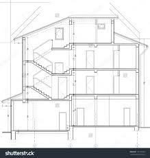 Wholesale Home Decor Catalog by 67a2 Section Perspective Drawing E2 80 93 House 2 Drawings As An