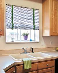 Roman Shades For Kitchen Hearth U0026 Holm No Sew Roman Shades Using Blinds