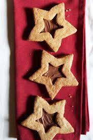 hazelnut chocolate linzer cookies