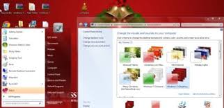 theme de bureau windows 7 5 thèmes de noël gratuits pour windows 7