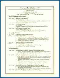 skills based resume template resume skills template embersky me