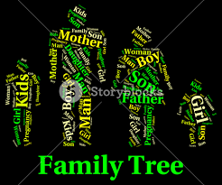 family tree meaning blood relation and genealogical royalty free
