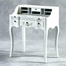 Small White Writing Desk White Writing Desk With Drawers Bemine Co