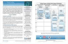 great sheets fact sheets great lakes coastal flood study