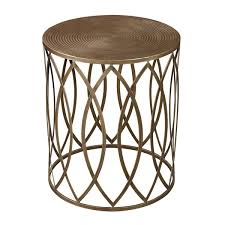 gold metal side table metal round side table etrevusurleweb