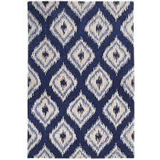 Navy Area Rug Navy Blue Area Rug 8x10 Envialette With Regard To Rugs Idea 1