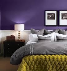 dark purple wall paint decoration ideas marine grey bedroom