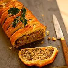 kale quinoa and nut roast en croute potluck at oh my veggies