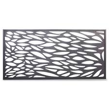 plaque alu decorative blooma neva aluminium decorative 1 2 panel w 1790mm h 880mm