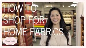 how to shop a fabric store for home decor fabricana youtube