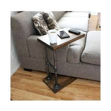 laptop table for couch ikea rolling bed table copy cat homemade occasional table tutorial ikea