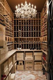 Wine Cellar Chandelier 12 Luxe Wine Cellars We Want In Our House Someday Wine Cellars