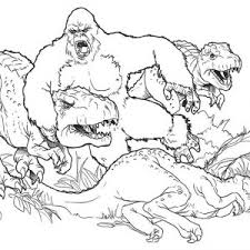 king kong coloring pages shishita