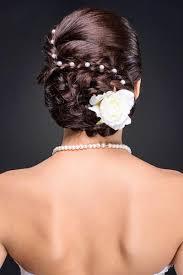 Hochsteckfrisurenen Hochzeit Mit Perlen by Geheimnisvoll Verwobener Haarknoten Hochsteckfrisuren Für Die