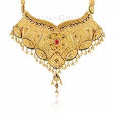gold set 22ct gold necklace set eastern gold