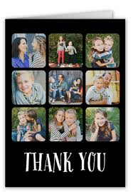 thank you pix 5x7 folded thank you cards shutterfly