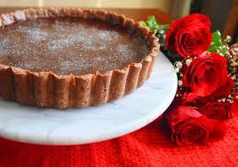 champagne rose chocolate tart jeanie and lulu u0027s kitchen