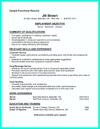Job Resume Server by Server Job Duties For Resume Free Resume Example And Writing