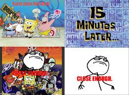 Meme Spongebob Indonesia - ragegenerator rage comic perubahan spongebob