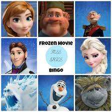 frozen dvd free frozen movie bingo game printable clever pink