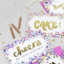 birthday cheers cheers on your birthday u0027 card by jane katherine houghton designs
