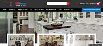 best rta kitchen cabinets top 10 best rta cabinets companies in usa by nuform