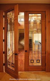 doors with glass windows beautiful frank lloyd wright style stained glass door http www