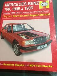 mercedes repair manuals haynes mercedes 190 190e 190d service repair manual series