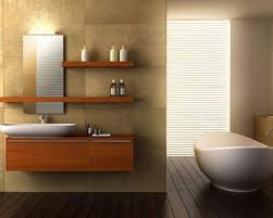 Cool Modern Bathrooms Bathroom Cool Modern Guest Bathroom Design With Floating Veneer