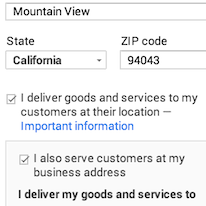 removing my address from my google search results google product