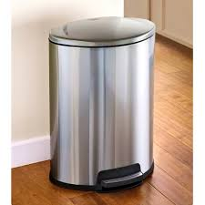 kitchen trash can size home and interior stainless steel step