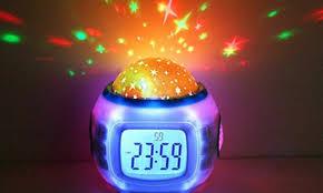 night light alarm clock up to 74 off on night light and alarm clock groupon goods