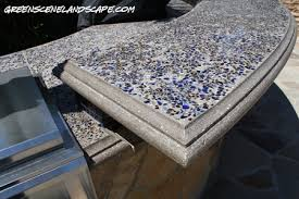 outdoor kitchen countertop ideas the green s award winning cast concrete counters and outdoor