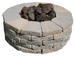 Lava Rock For Fire Pit by Rcp Block U0026 Brick Outdoor Fire Pits And Fire Pit Accessories