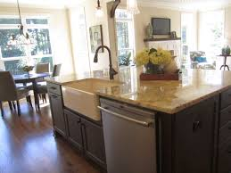 island sinks kitchen elegant designs of kitchen island with sink