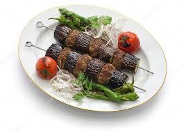 cuisine turque kebab aubergine kebab kebab patlican cuisine turque photographie