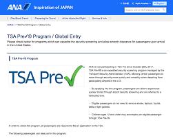 ana now participates in tsa precheck flyertalk forums