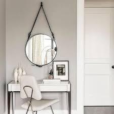white modern bedroom vanity design ideas