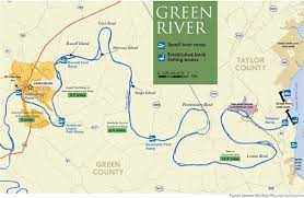 map kentucky lakes rivers greensburg ky official website floating the green river ky